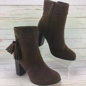 Cato Suede Tassled boots size 7 M